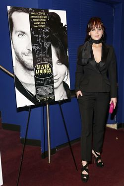 "Jennifer Lawrence attends the ""Silver Linings Playbook"" New York Premiere at Florence Gould Hall on No"