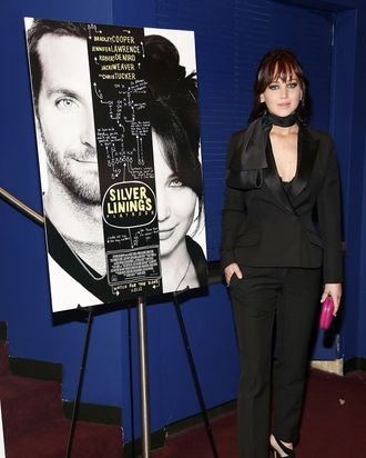 Jennifer Lawrence attends the