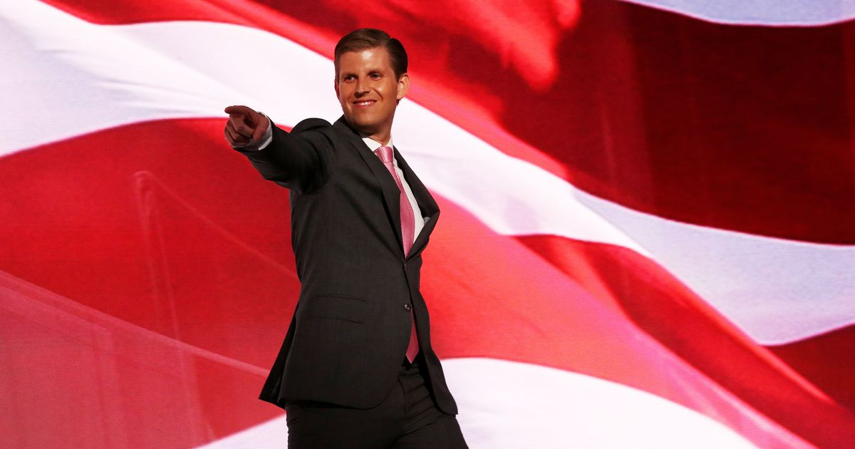 Eric Trump Rips Political Families That Enrich Themselves
