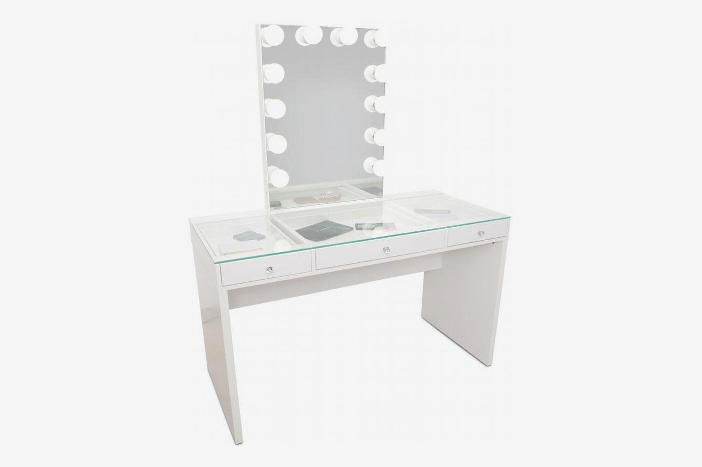 d5dcacac4c44 Impressions Slaystation Plus 2.0 Table + Glow XL Vanity Mirror Bundle