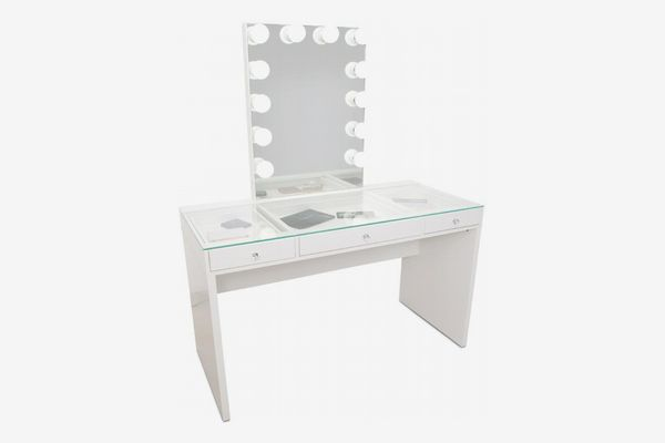 Impressions Slaystation Plus 2.0 Table + Glow XL Vanity Mirror Bundle