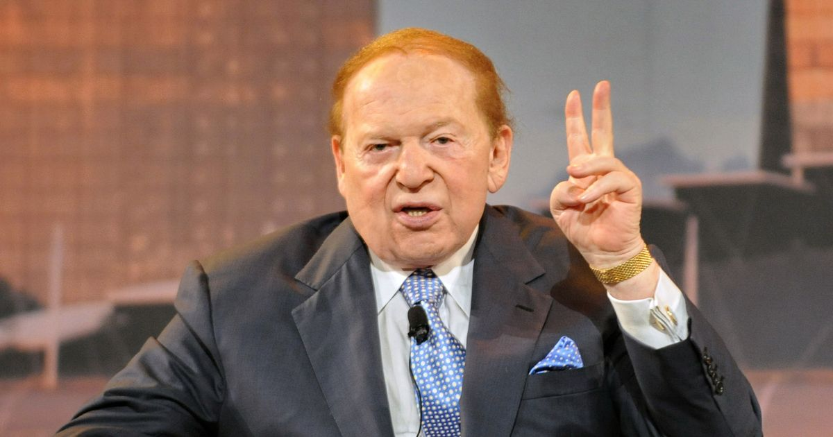 Sheldon Adelson Arms Young Guns With $5 Million