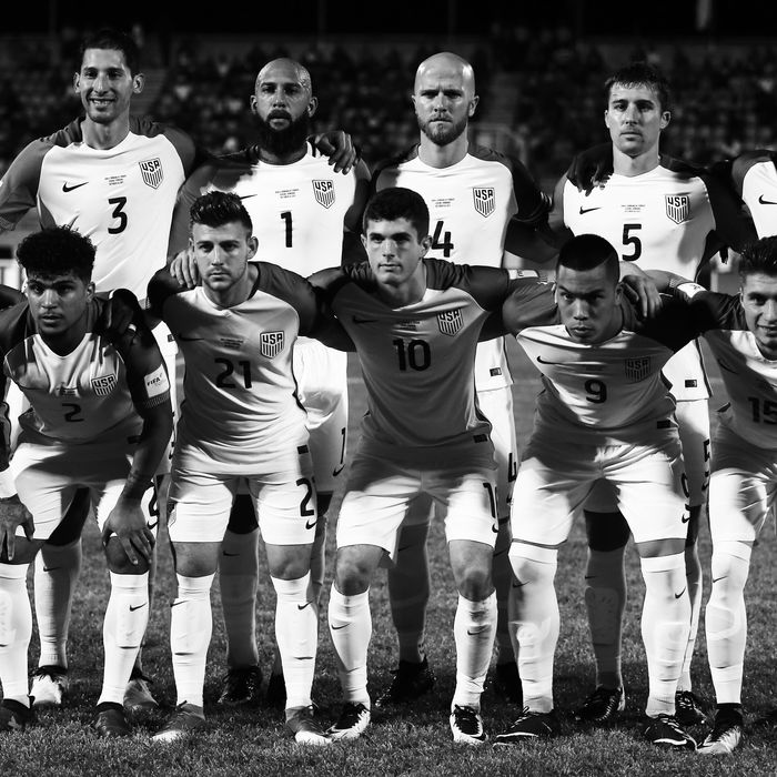 The U.S. Men's National Soccer Team.