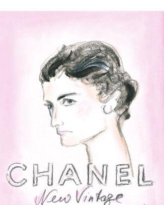 Chanel's Haute Couture invitation.