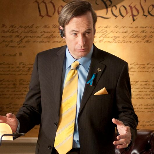 "Saul Goodman (Bob Odenkirk) - Breaking Bad - Season 4, Episode 7_""Problem Dog"" - Photo Credit Ursula Coyote/AMC"
