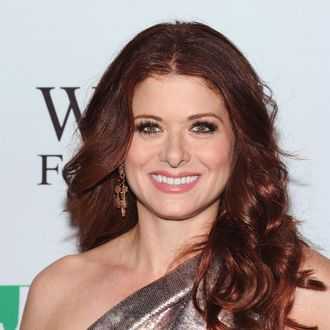 Debra Messing attends The Joyful Heart Foundation Presents: The 5th Annual Joyful Revolution Gala at Cipriani, Wall Street on May 9, 2012 in New York City.