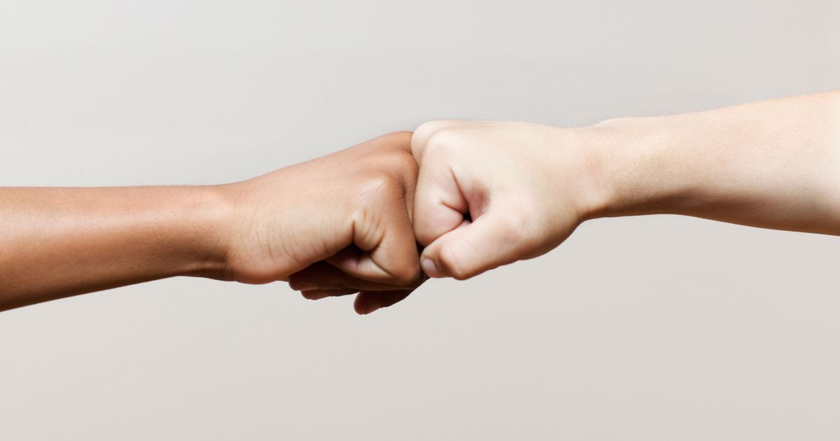 Fist bump pictures