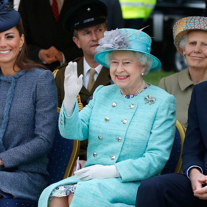 Widdleton's royal blessing.