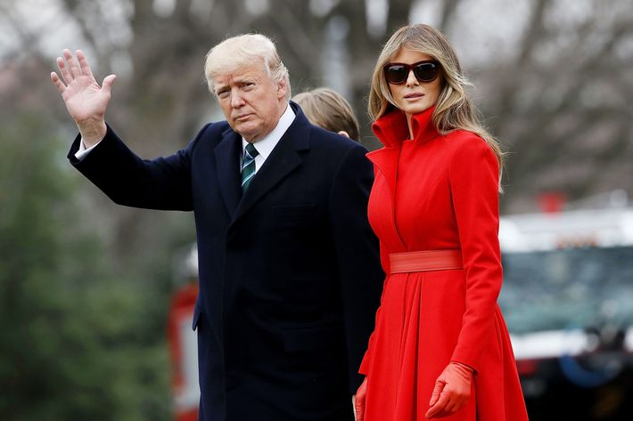 Sources claim Donald and Melania Trump 'never spend the night together - ever'