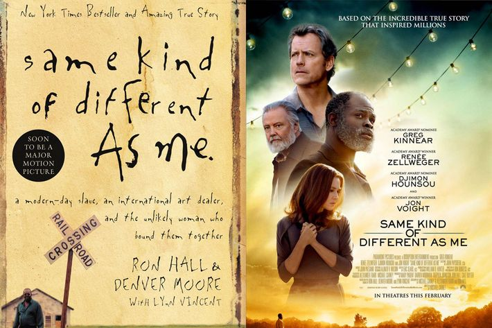same kind of difference as me The story of same kind of different as me is entirely nonfictional, which is the best kind worth telling.
