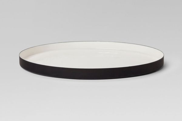 Project 62 Round Enameled Tray