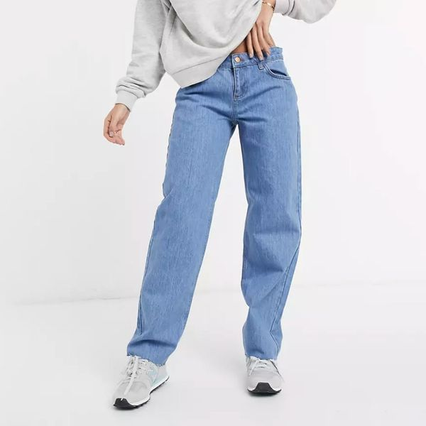 Reclaimed Vintage Inspired Low Rise Dad Jeans