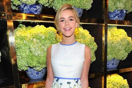 Actress Kiernan Shipka attends the Tory Burch Rodeo Drive Flagship Opening at Tory Burch on January 14, 2014 in Beverly Hills, California.