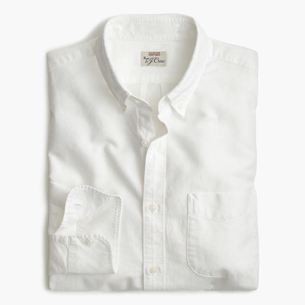 J.Crew Slim Stretch American Pima Cotton Oxford Shirt