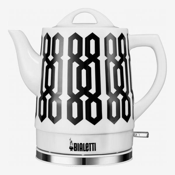 Bialetti 1.5L Ceramic Kettle Geo Pattern
