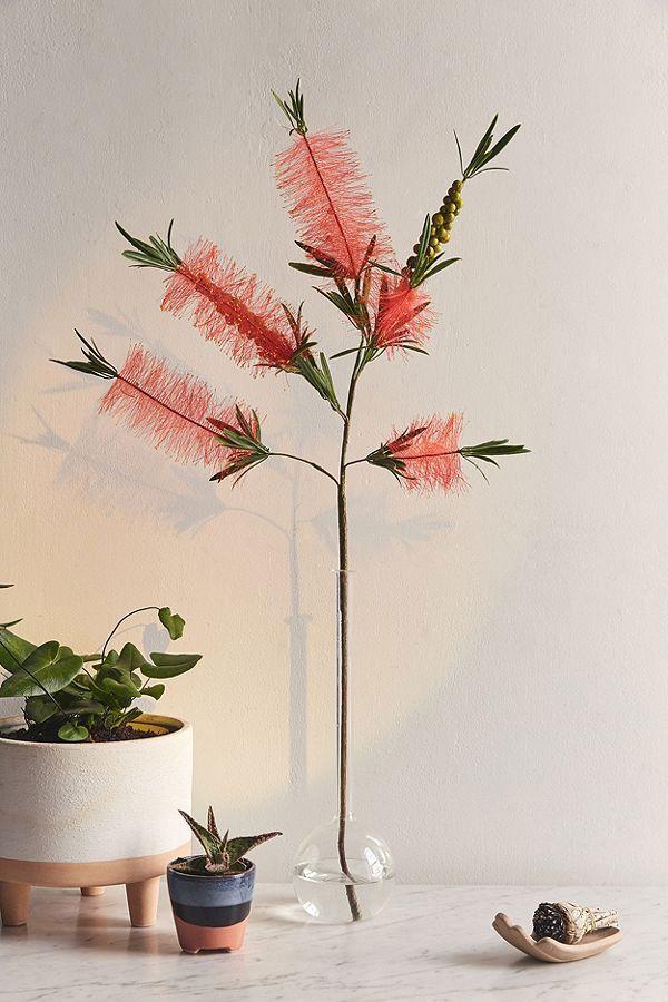 Bottle Brush Faux Flower