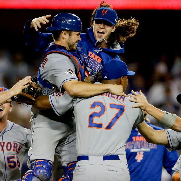 NLDS Mets Dodgers Baseball