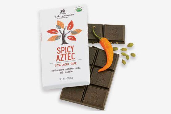 Lake Champlain Dark Spicy Aztec Chocolate Bar
