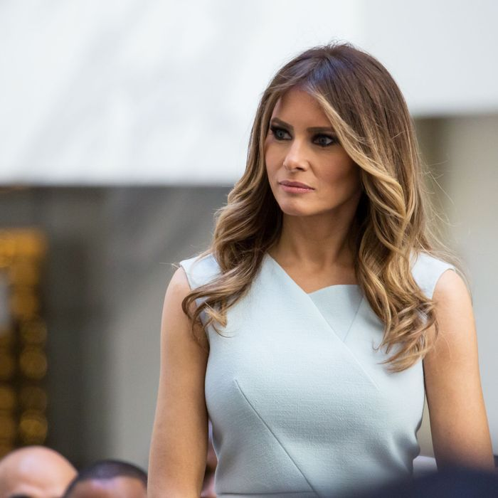 All the Designers Who've Spoken About Dressing Melania Trump