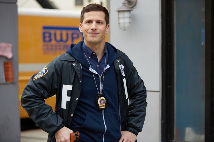 "BROOKLYN NINE-NINE: Andy Samberg in the ""Adrian Pimento"" episode of BROOKLYN NINE-NINE airing Tuesday, Feb. 23 (9:00-9:30 PM ET/PT) on FOX. CR: John P. Fleenor/FOX."