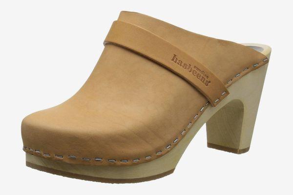 Swedish Hasbeens Women's Slip-In Super High Mule