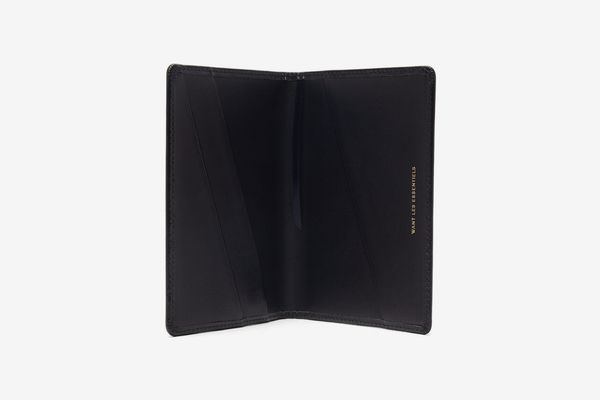 Want Les Essentiels Pearson Leather Passport Holder