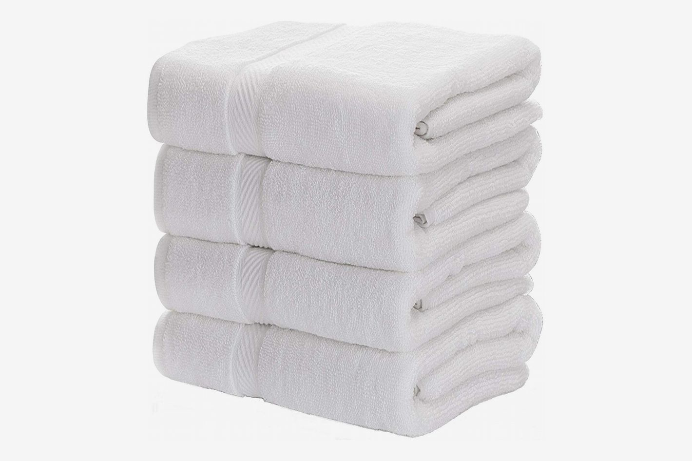 Luxury White Bath Towels (27 x 54 inches)