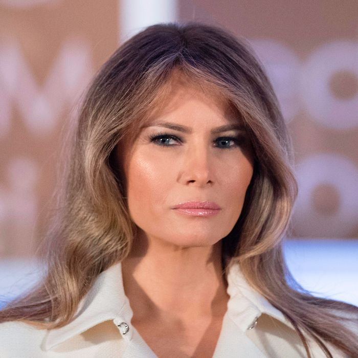 Melania Trump Gave a Rare Speech About Women's Empowerment