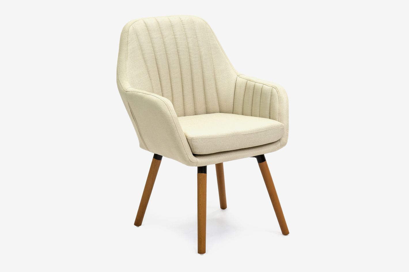 Best Choice Products Mid-Century Modern Line Tufted Accent Chair