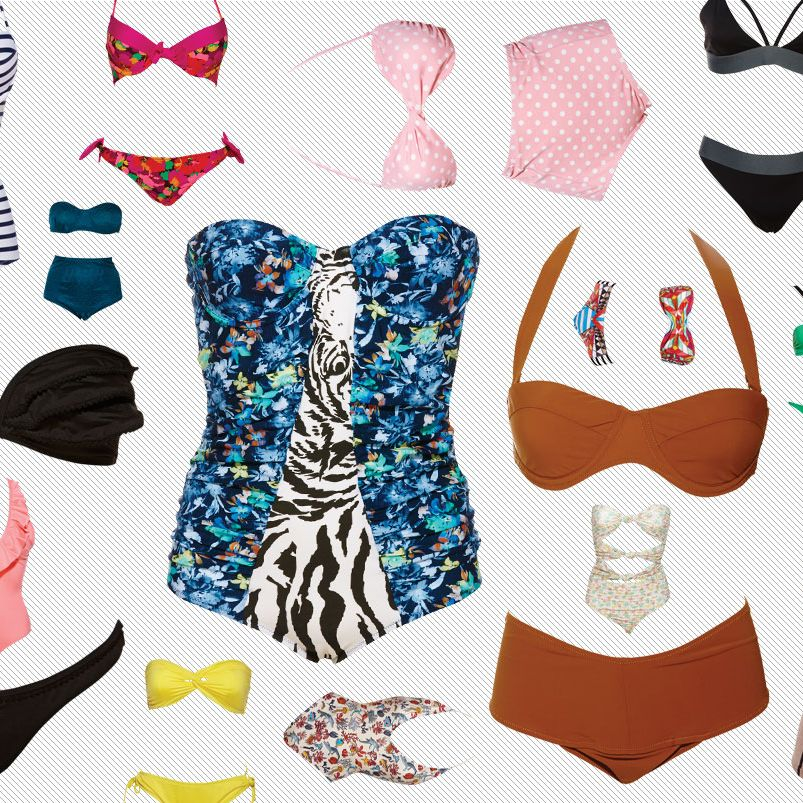 54a05d2bc5 Jump In: 125 Swimsuits for Summer