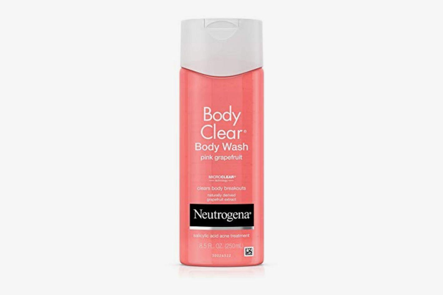 Neutrogena Body Clear Body Wash with Salicylic Acid Acne Treatment (Three-Pack)