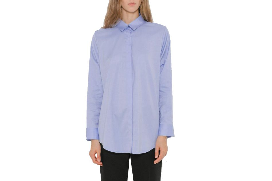 T by Alexander Wang Cotton Poplin Shirt