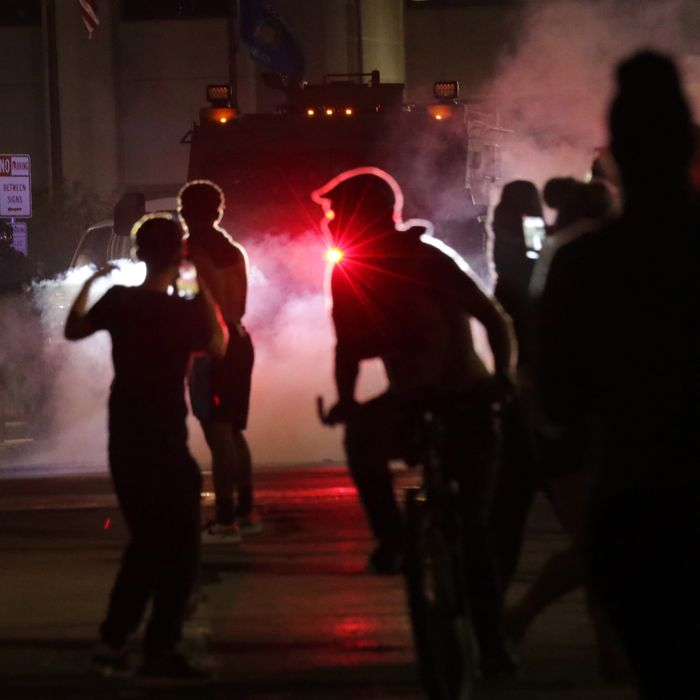 Following the police shooting of Jacob Blake, protests erupted in Kenosha, Wisconsin.