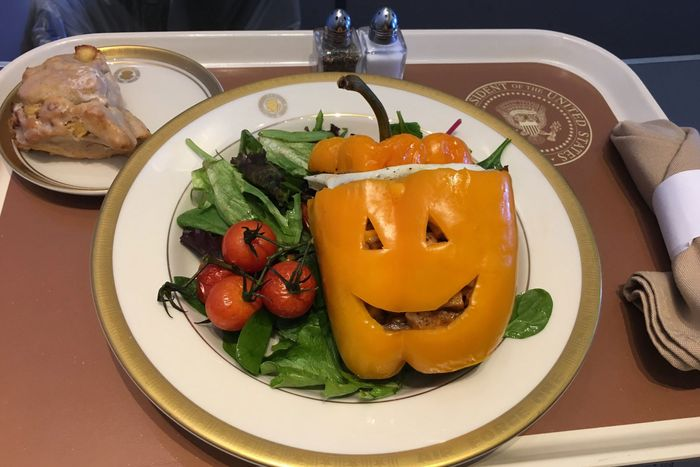 Air Force One meal.