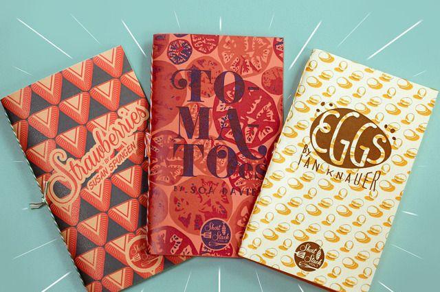 The covers look like chocolate bars!