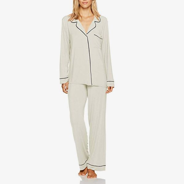Eberjey Women's Gisele Two-Piece Long-Sleeve and -Pant Pajama Sleepwear Set