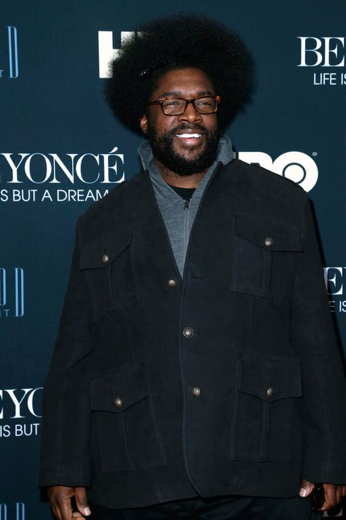 Questlove== HBO Presents BEYONCE: LIFE IS BUT A DREAM== Ziegfeld Theatre, New York== February 12, 2013== ?Patrick McMullan== Photo-JIMI CELESTE/patrickmcmullan.com==