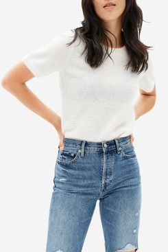 Everlane Alpaca Sweater Tee