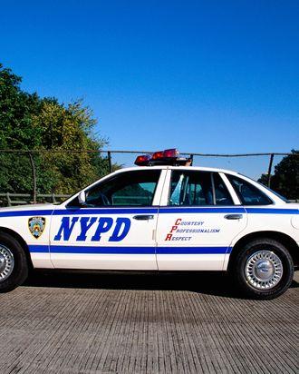 New York Police Department Patrol Car