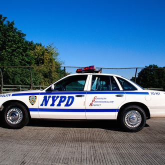 New York Police Department Patrol Car