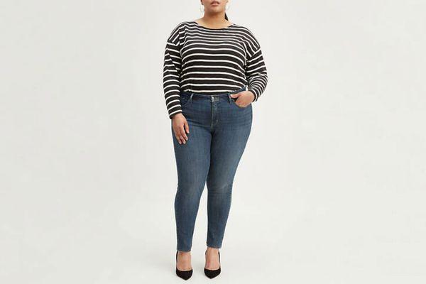 Levi's 310 Shaping Super Skinny Jeans (Plus Size)
