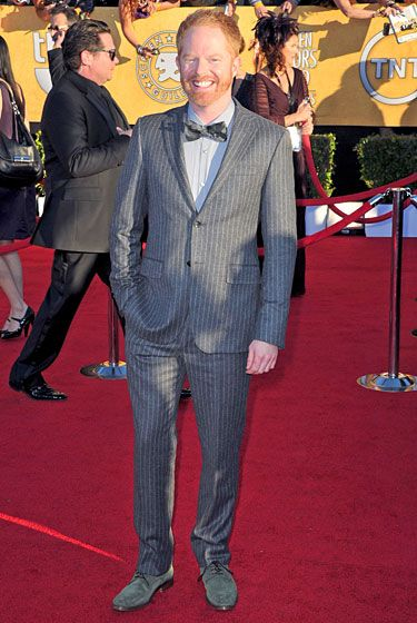 LOS ANGELES, CA - JANUARY 29:  Actor Jesse Tyler Ferguson arrives at the 18th Annual Screen Actors Guild Awards at The Shrine Auditorium on January 29, 2012 in Los Angeles, California.  (Photo by Alberto E. Rodriguez/Getty Images)