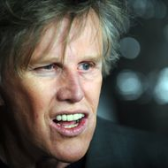 "Actor Gary Busey arrives at the premiere of ""Crazy Heart"" in Beverly Hills, California on December 8, 2009. AFP PHOTO / GABRIEL BOUYS (Photo credit should read GABRIEL BOUYS/AFP/Getty Images)"