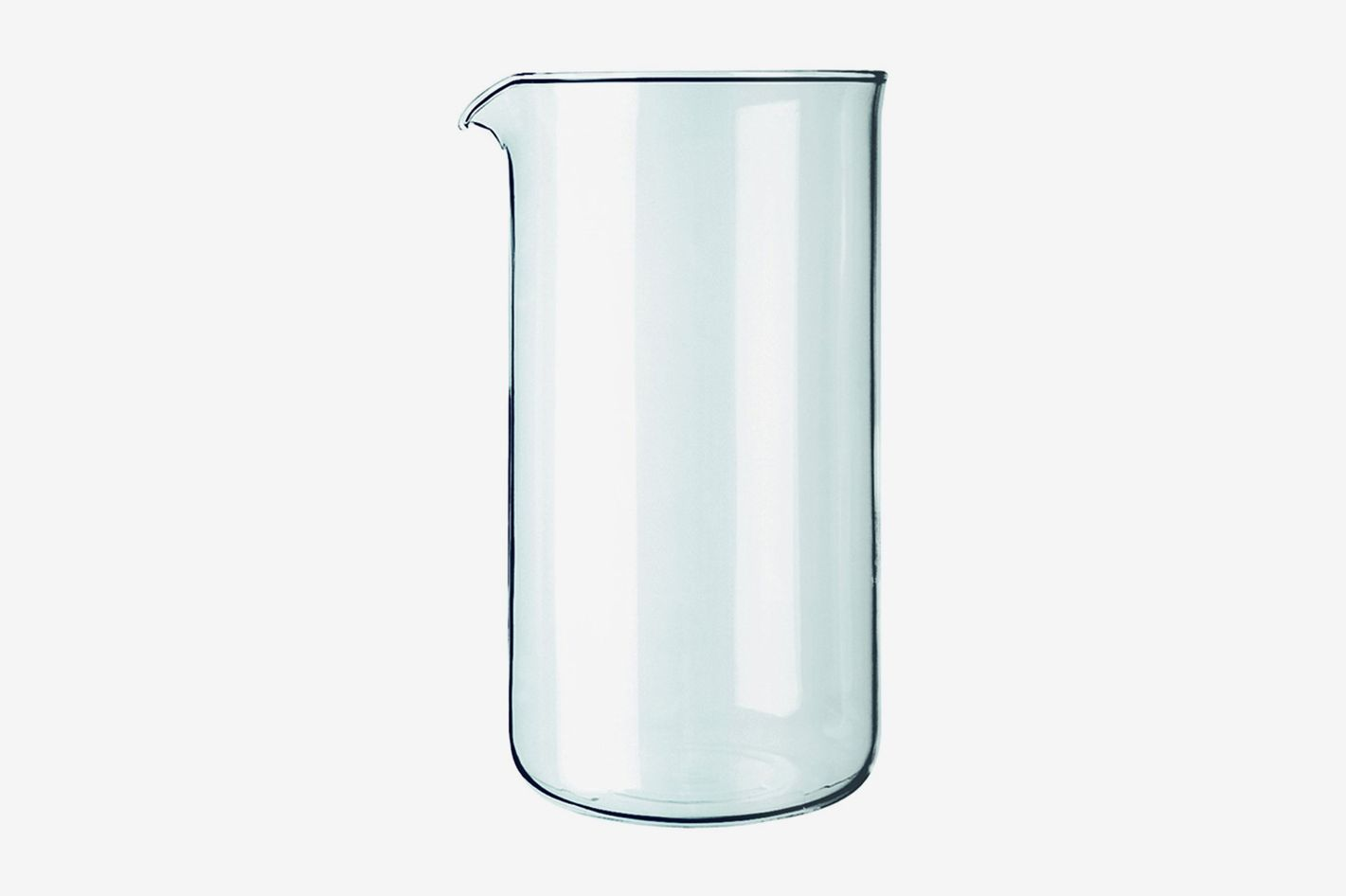 Bodum Replacement Beaker French Press, Replacement 12 Oz Clear Glass