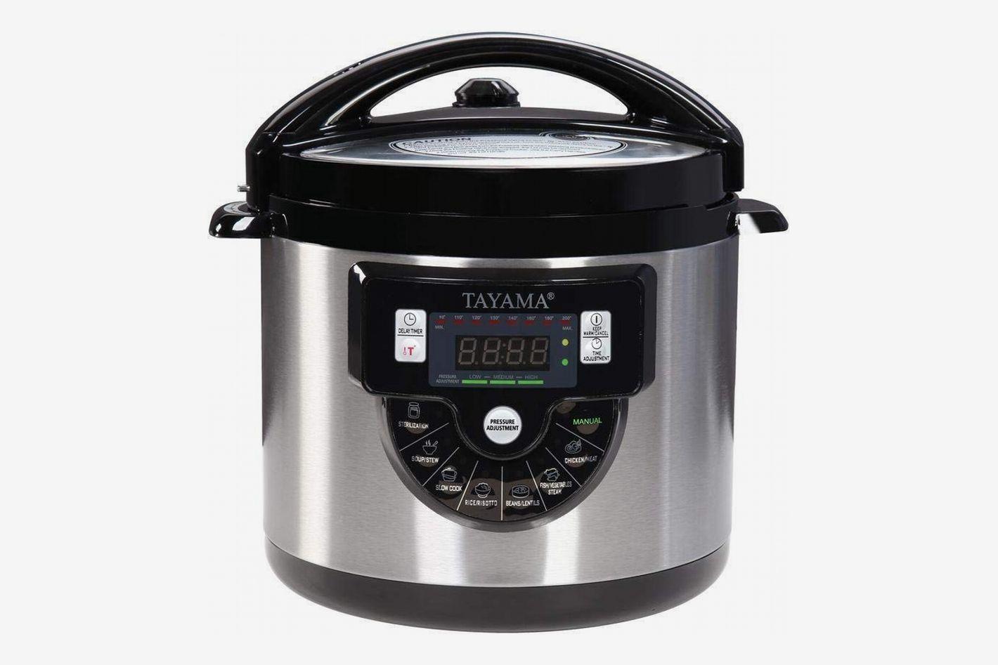Tayama TMC-60XL 6 quart 8-in-1 Multi-Function Pressure Cooker