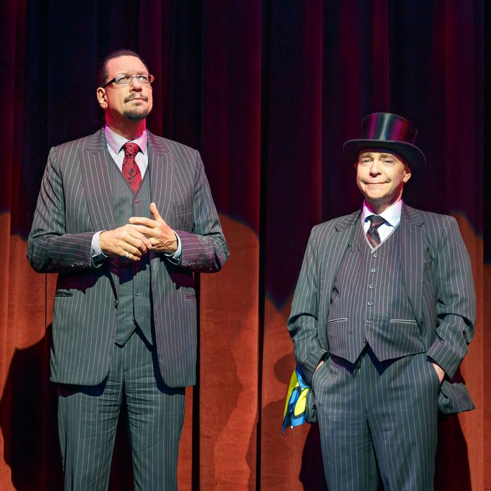 Penn & Teller On BroadwayMarquis Theatre