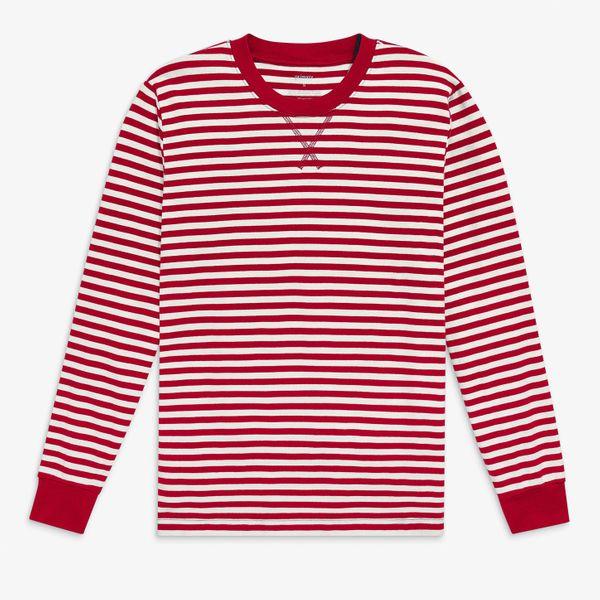 Primary Grown-ups PJ Top in Stripe