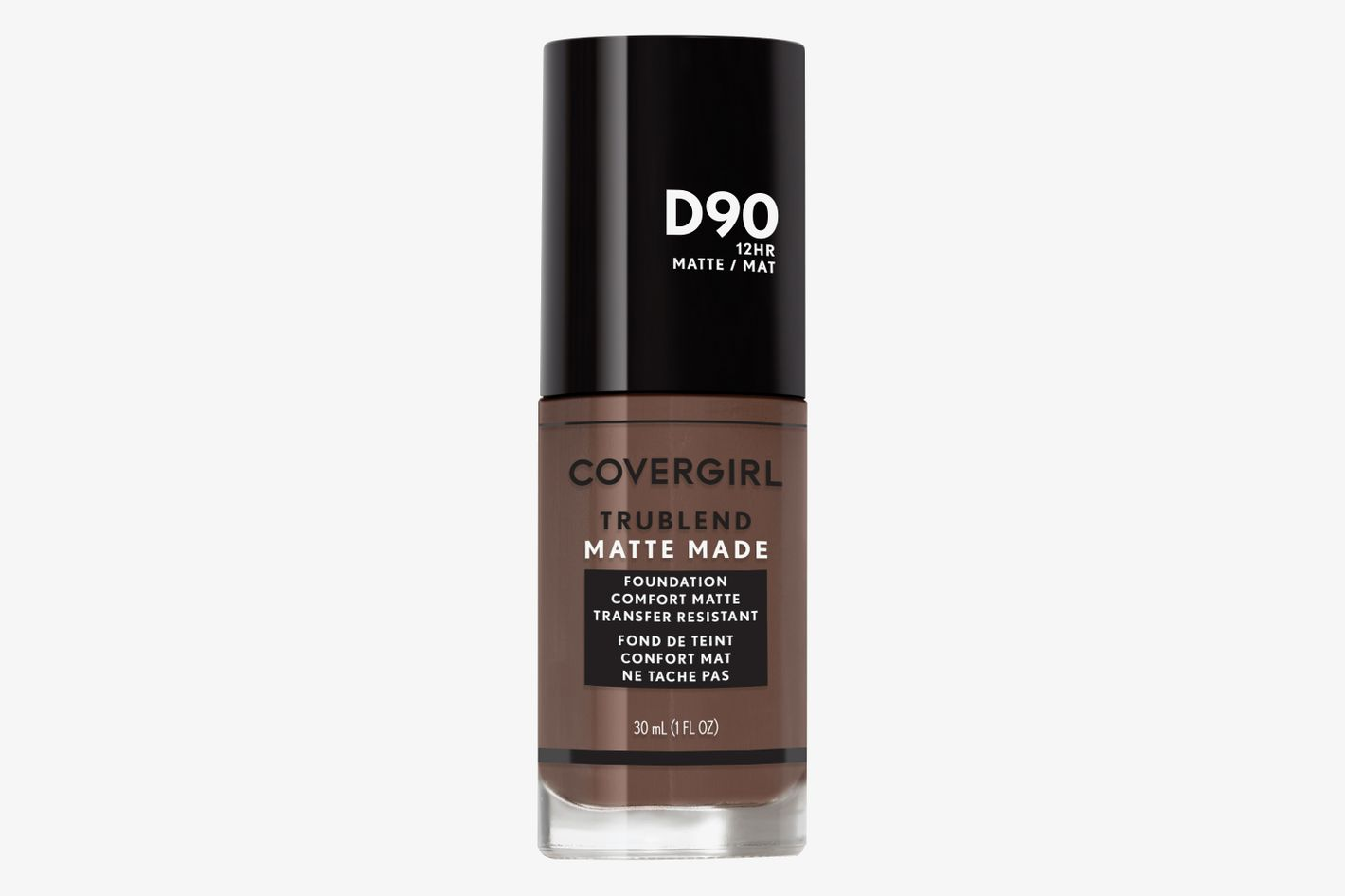 TruBlend Matte Made Liquid Foundation in D90