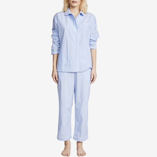 Sleepy Jones Women's End On End Bishop Pajama Set