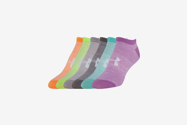 Under Armour Women's 6 Pack Liner No Show Socks